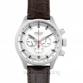 El Primero Sport Chronograph Automatic Silver Dial Men's Watch 45MM