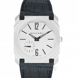 Octo Finissimo Automatic Silver Dial Men's Watch