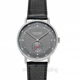 Metro 38 Urban Gray Manual-winding 38.5mm Men's Watch