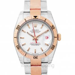 Datejust 36mm-Steel and Gold Pink Gold-Turn-O-Graph-Oyster