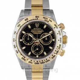 Rolex Cosmograph Daytona Steel and 18K Yellow Gold Oyster Men's Watch 116503BKSO