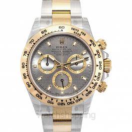 Cosmograph Daytona 18ct Yellow Gold Automatic Grey Dial Men's Watch
