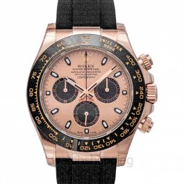 Cosmograph Daytona 18ct Everose Gold Automatic Pink Dial Men's Watch