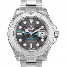 Rolex Yacht-Master 40 Dark Rhodium Dial Steel Oyster Men's Watch 116622RSO