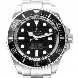 Deepsea Sea-Dweller Stainless Steel Automatic Black Dial Oyster Bracelet Men's Watch