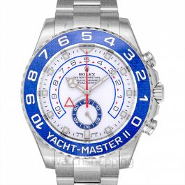 Rolex Yacht-Master II White Dial Automatic Men's Watch 116680-0002
