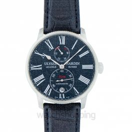 Marine Torpilleur Stainless Steel Automatic Blue Dial Men's Watch