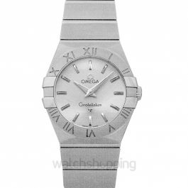Constellation Quartz 27 mm Quartz Silver Dial Steel Ladies Watch