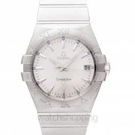 Constellation Quartz 35mm Quartz Silver Dial Steel Ladies Watch