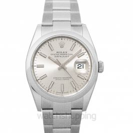 Datejust 36 Steel Automatic Silver Dial Men's Watch