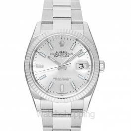 Rolex Datejust 36 Sliver Index Oyster Watch