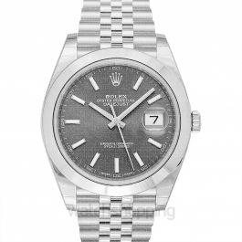 Rolex Oyster Perpetual Datejust Rhodium Dial Automatic Men's Jubilee Watch 126300RSJ