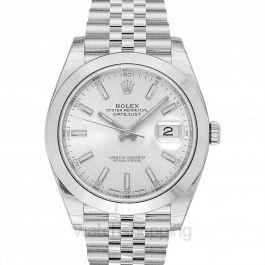 Rolex Datejust 126300-Silver-J
