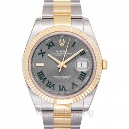 Rolex Datejust 126333-Grey-R-O