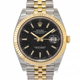 Rolex Datejust 126333 Black Jubilee