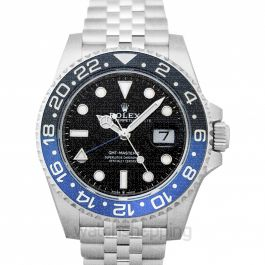 GMT Master II Batman 2019 Steel Automatic Black Dial Men's Watch
