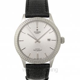 Style Automatic Silver Dial Men's Watch