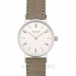 Tangente 33 Duo Manual-winding White Dial 32.8mm Ladies Watch