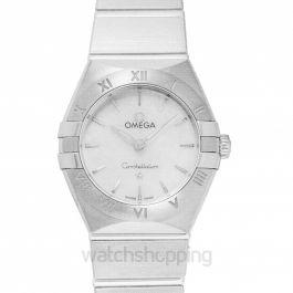 Constellation Manhattan Quartz 25mm Quartz White Mother Of Pearl Dial Steel Ladies Watch