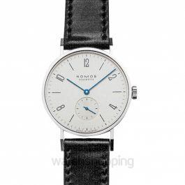 Nomos Glashütte Tangente Silver/Leather 35mm