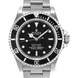 Submariner No-date Black Dial 40mm Men's Watch