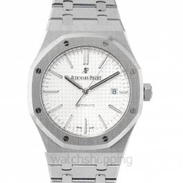 Royal Oak Silver Dial Men's Watch