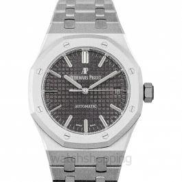 Royal Oak Automatic Grey Ruthenium Dial Ladies Watch
