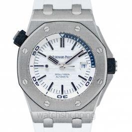 Royal Oak Offshore White Dial Men's Watch