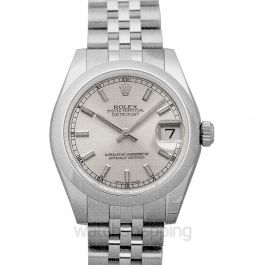 Datejust 31 Steel Automatic Silver Dial Ladies Watch