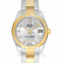 Datejust Lady 31 Steel And 18ct Yellow Gold Automatic Mother Of Pearl Dial Ladies Watch