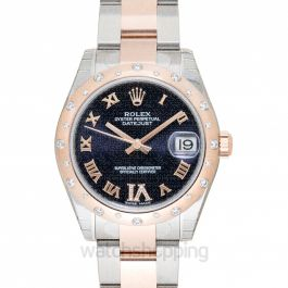Datejust 31 Purple Steel/18k Rose Gold Dia 31mm