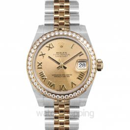 Datejust 31 Rolesor Yellow Diamond / Jubilee / Champagne Roman