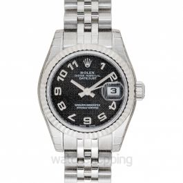 Rolex Lady Datejust 179174-Bk-A-J