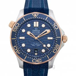 Speedmaster Automatic Blue Dial Men's Watch