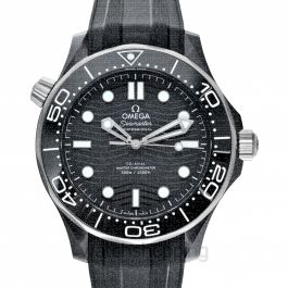 Seamaster Diver 300 M Co‑Axial Master Chronometer 43.5 mm Automatic Black Dial Ceramic Men's Watch