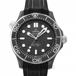 Seamaster Diver 300 M Co‑Axial Master Chronometer 43.5 mm Automatic Black Dial Black Ceramic Men's Watch