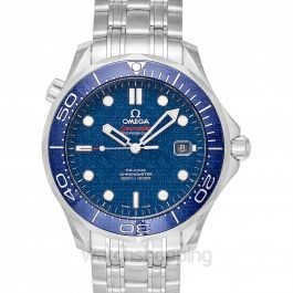 Seamaster Diver 300 M Co-Axial 41 mm Automatic Blue Dial Steel Men's Watch