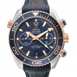 Seamaster Planet Ocean 600M Co‑Axial Master Chronometer Chronograph 45.5 mm Blue Dial Gold Unisex Watch