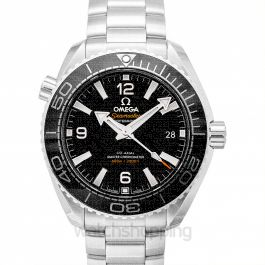 Seamaster Planet Ocean 600M Co‑Axial Master Chronometer 39.5mm Automatic Black Dial Steel Men's Watch