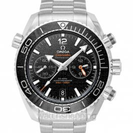 Seamaster Planet Ocean 600M Co-Axial Master Chronometer Chronograph 45.5 mm Automatic Black Dial Steel Men's Watch