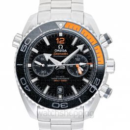 Seamaster Planet Ocean 600M Co‑Axial Master Chronometer Chronograph 45.5mm Automatic Black Dial Steel Men's Watch