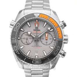 Seamaster Planet Ocean 600M Co‑Axial Master Chronometer Chronograph 45.5mm Automatic Grey Dial Titanium Men's Watch