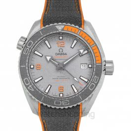 Seamaster Planet Ocean 600M Co‑Axial Master Chronometer 43.5mm Automatic Grey Dial Titanium Men's Watch