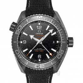 Seamaster Planet Ocean 600M Co‑axial Master Chronometer GMT 45.5 mm Automatic Black Dial Ceramic Men's Watch