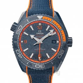 Seamaster Planet Ocean 600M Co‑axial Master Chronometer GMT 45.5 mm Automatic Blue Dial Blue ceramic Men's Watch