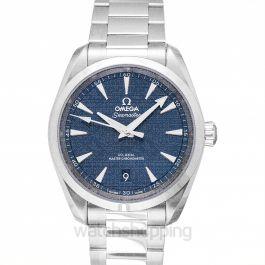 Seamaster Aqua Terra 150M Co‑Axial Master Chronometer 38mm Automatic Blue Dial Steel Men's Watch