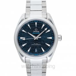 Seamaster Aqua Terra 150M Co-Axial Master Chronometer 41 mm Automatic Blue Dial Steel Men's Watch