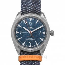 Seamaster Railmaster Co‑Axial Master Chronometer 40mm Automatic Blue Dial Steel Men's Watch