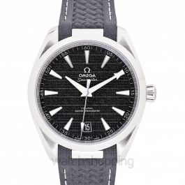 Seamaster Aqua Terra 150M Co-Axial Master Chronometer 41 mm Automatic Black Dial Steel Men's Watch