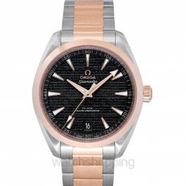 Seamaster Aqua Terra 150M Co-Axial Master Chronometer 41 mm Automatic Grey Dial Gold Men's Watch